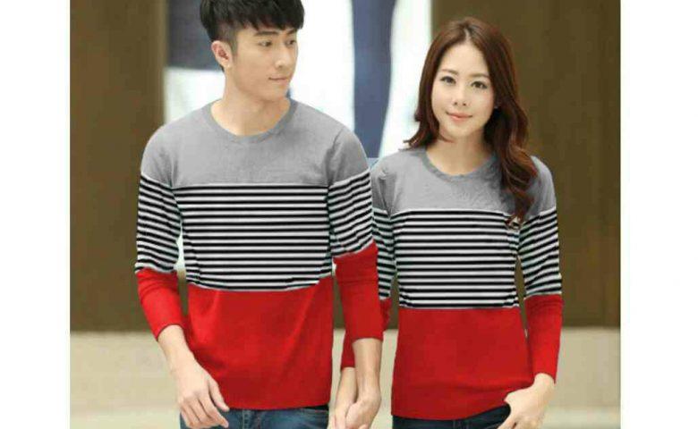 Baju Couple Lengan Panjang Modern