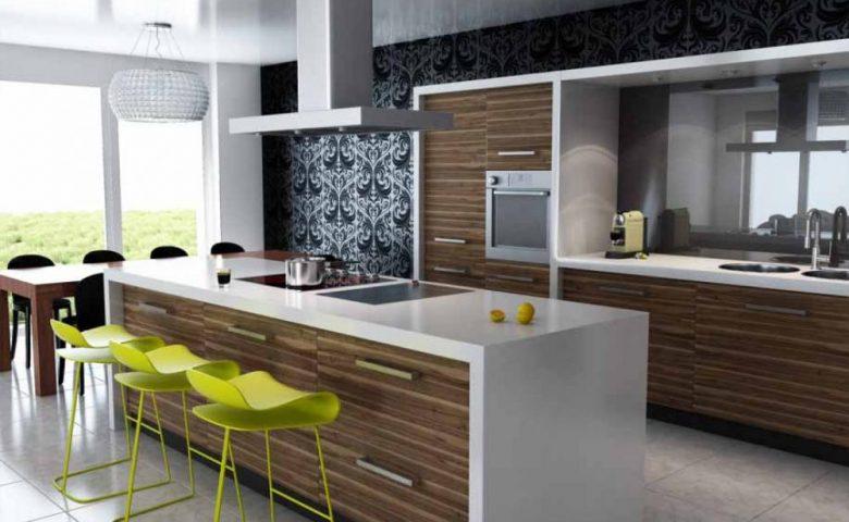 Desain Dapur Rumah Berkonsep Terbuka