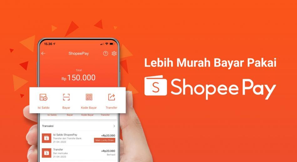 ShopeePay mempermudah pembayaran di Shopee